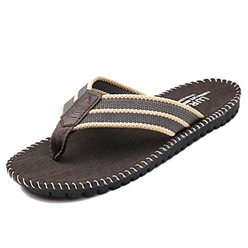 Stifai Cool Skidproof Mens Flip Flops Summer Thong Sandals Grey DBtf2Iaz
