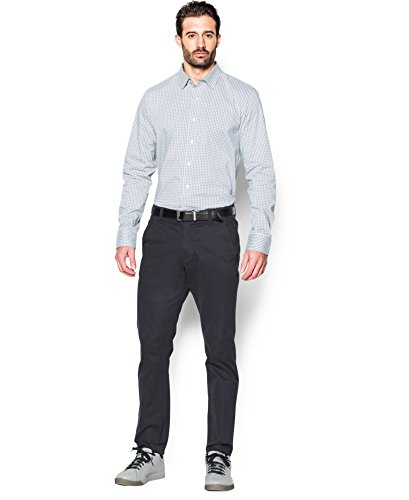 Under Armour Men's Performance Woven Shirt, Steel (035)/Steel, XX-Large by Under Armour (Image #3)
