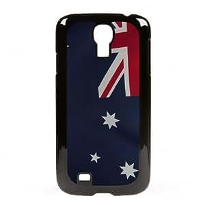 Case Fun Samsung Galaxy S4 (I9500) Vogue Case - Flag of Australia Style 2 (World Cup)
