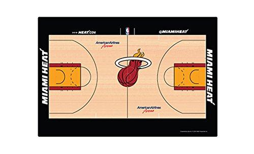 (NBA Miami Heat NBA Placemat - 4-Piece, Tan, 11 3/8