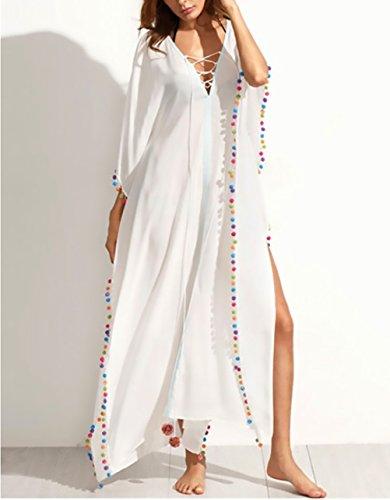 98c89868bf87 Lunghi Larghi Palla Collo Con Lungo Ragazza Hop Hip Copricostume Vestiti  Manica Casual Dresses Moda Vestito Donna Corta Estivi Mare ...