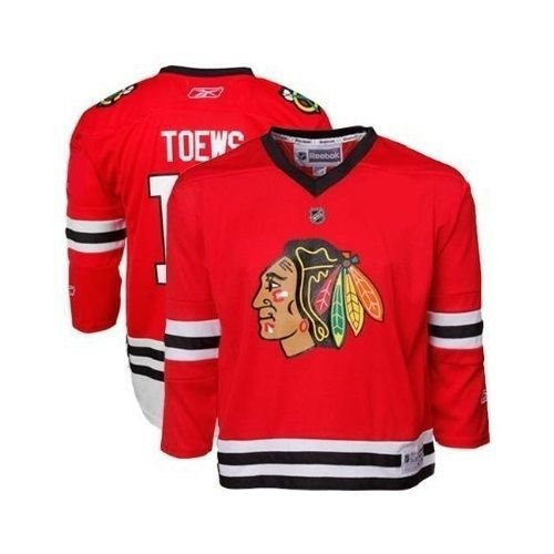 Jonathan Toews Infant (12-24M) Jersey: Reebok #19 Chicago Blackhawks Infant (12-24M) Replica Jersey