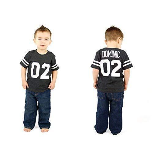 c5948481a8a8e Boys 2nd Birthday Football shirt