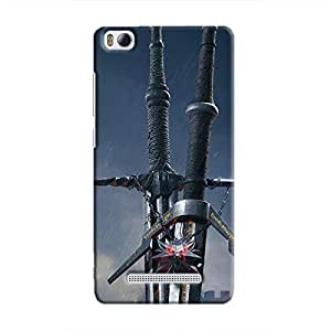 Cover It Up - Witcher Blades Mi4i Hard Case