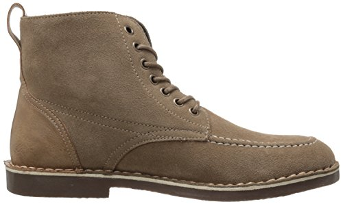 Ons Polo Assn. Heren Bleeker Mid Lace Boot Sand Suede