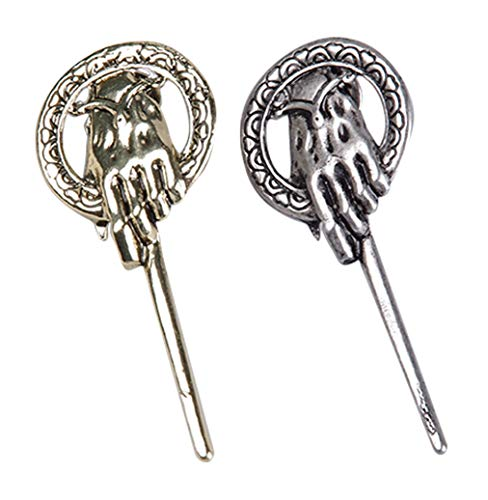 Hand of the King Brooch Pins Thrones Halloween Cosplay Costumes]()