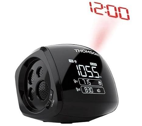 Thomson CP280 Radio despertador con proyector: Amazon.es: Informática