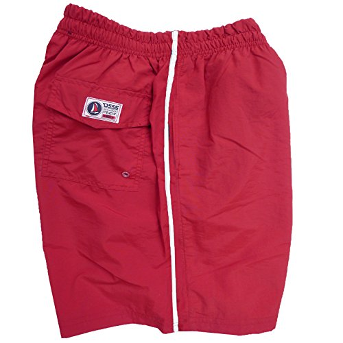 Duke London - Short de Bain Grande Taille Homme Duke 555 Yarrow - Rojo, 3XL/3XL