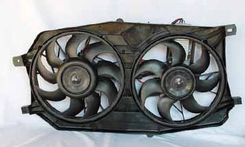 TYC 621280 Ford//Mercury Replacement Radiator//Condenser Cooling Fan Assembly