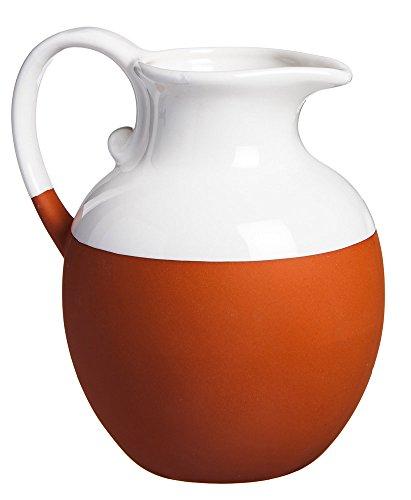 elegant-earthenware-white-dipped-terra-cotta-serving-pitcher