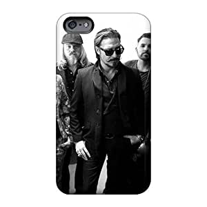 Perfect Hard Cell-phone Cases For Iphone 6plus With Provide Private Custom High Resolution Mercenary Band Skin ChristopherWalsh