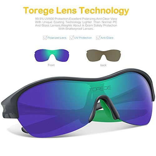 1e8e030f7f Torege Tr90 Flexible Kids Sports Sunglasses Polarized Glasses - Import It  All