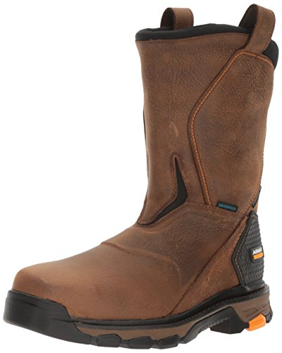 Ariat Work Men's Intrepid Pull-On H2O Composite Toe Work Boot, Rye Brown, 12 2E US
