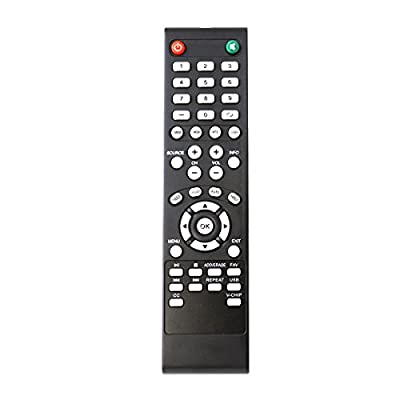 ZdalaMit Replacement TV Remote Control fit for Element TV ELEFW408 ELEFW328 ELEFW605 ELEFW606 ELEFW601 ELEFW231 ELEFW40C ELEFW605 ELEFW504A