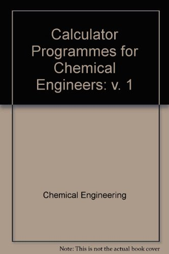 Review Calculator Programmes for Chemical