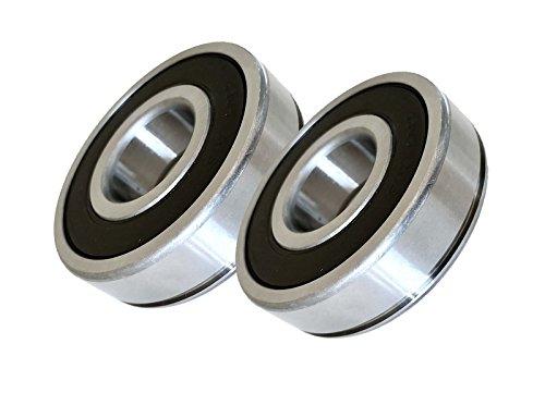 (2 Pack) Hustler 783555, Jacobsen 552184 Spindle Bearings - High Temp Grease - OEM UPGRADE - HD ()