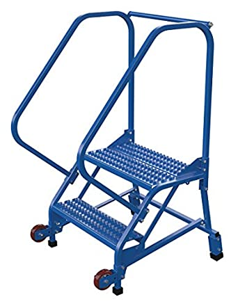 Fabulous Vestil Lad Trn 50 2 G Tip N Roll Ladder Grip Strut 2 Step Squirreltailoven Fun Painted Chair Ideas Images Squirreltailovenorg
