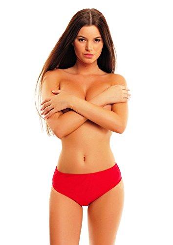 Bikini bragas Figurumspielender, pantalones! Actual 1003S - W300 - f3810 Rojo