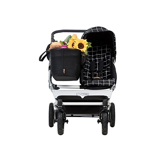 Mountain Buggy Duet 3.0 as a Single Stroller in Grid ()