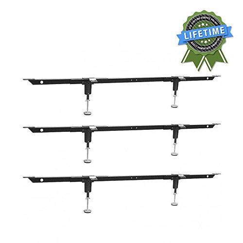 EZ-Lift EL2-18 Steel Bedding Support System, 3 Cross Supports, 2 Legs (Rails Slats)