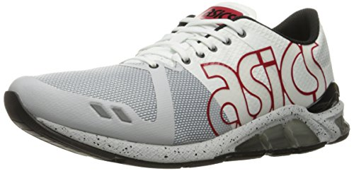 Men's White Sneaker Fashion Gel ASICS Red One Lyte Eighty 1WzwPq