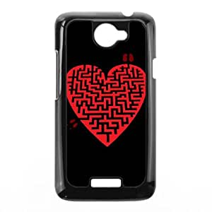 HTC One X Cell Phone Case Black Love Maze NFF Phone Case Of The Month