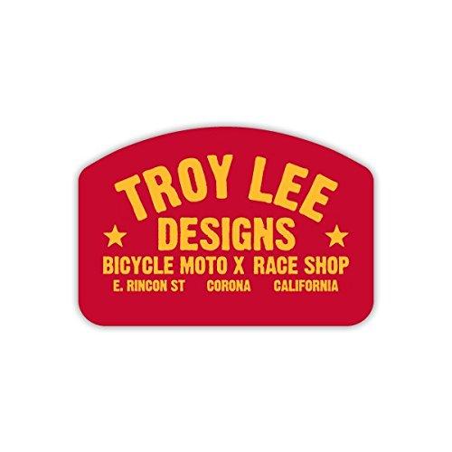 Tld Decal (Troy Lee Designs TLD Race Shop Sticker 6.5