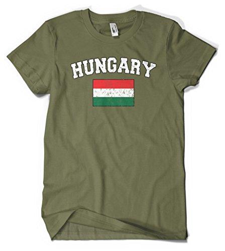 Cybertela Hungary Flag Men's T-shirt