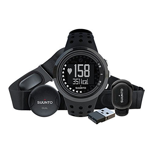 Suunto M5 Running Pack - Men's All Black, One (Max Heart Rate Test)