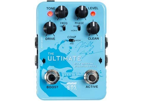 - EBS Billy Sheehan Ultimate Signature Drive Pedal