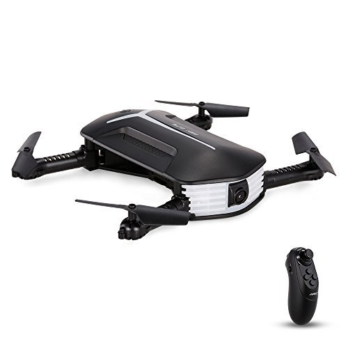 Goolsky H37 Foldable Drone with 720P Camera Live Video Selfie G-sensor RC Quadcopter Altitude Hold Headless Mode