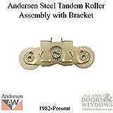 W//Roller Pack of 2 Slide-Co 112200 Screen Door Tension Spring 1 Nylon B.B.,