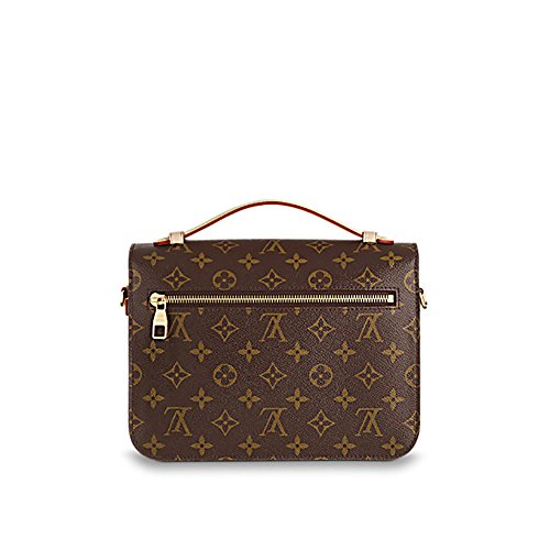 Authentic Louis Vuitton Monogram Canvas Pochette Metis Cross Body Bag Handbag Article: M40780