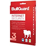 BullGuard Internet Security 2017 - 1 Year 3 Device License - Always Downloads Latest Edition - For All Windows, MAC and Android