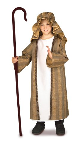 [Child's Shepherd Costume, Medium] (Shepherd Child Costumes)