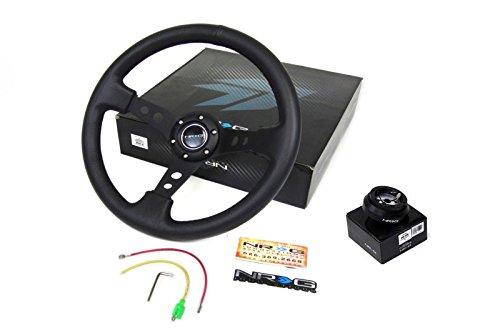 94-01 Acura Integra All Models NRG350MM Steering Wheel + Hub Adapter (Acura Models)