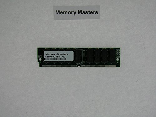 - MEM4500-16S 16MB shared memory upgrade for Cisco 4500 Series Routers
