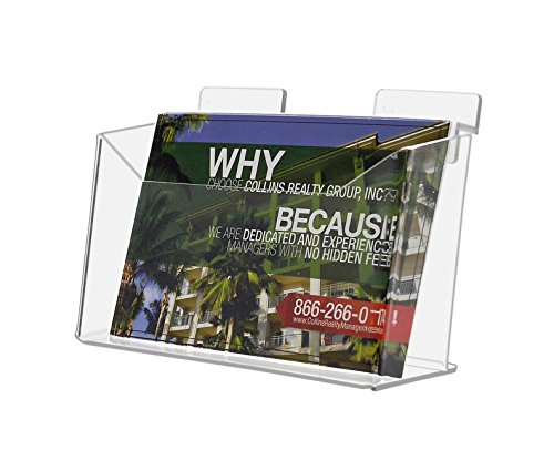 System Slatwall Display (Marketing Holders Slatwall Acrylic Countertop Postcard Holder (Pack of 1))