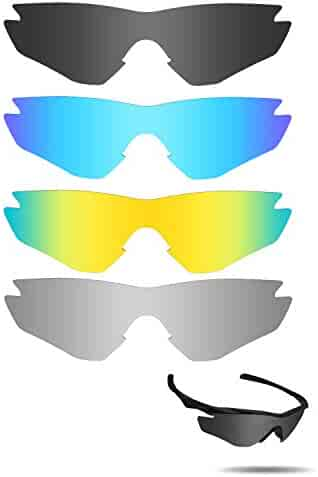 d255212a28 Fiskr Anti-saltwater Replacement Lenses for Oakley M2 Frame Sunglasses 4  Pairs Pack