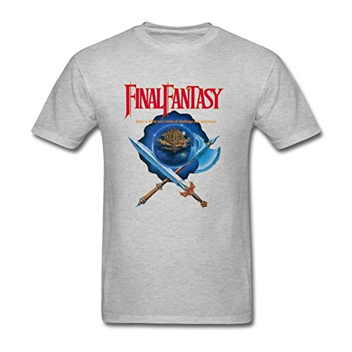 CNTJC Men's Final Fantasy T Shirt XXL