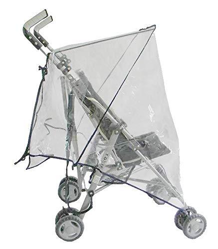 Amigos Regenschutz f/ür Buggy oder Kinderkarre universal mit Cliphalterung