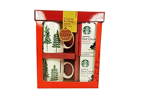 Starbucks Holiday Cocoa for Two Set