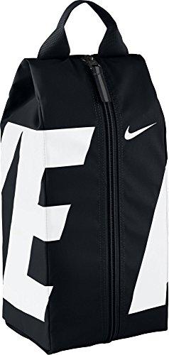 Nike Black/White Sports Equipment Bag, 15.75