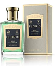Floris London Rose Geranium Bath Essence, 1.7 Fl Oz