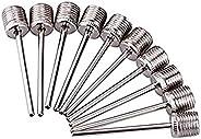 10pcs Sports Inflating Needle pin ball Pump Needle Nozzle for occer Balls Basketballs Volleyballs Footballs Ai