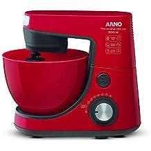 Batedeira Arno Planetária Deluxe 220V Vermelha 500W 4L Potência 8 Velocidades