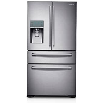 Samsung RF31FMEDBSR Stainless Steel French Door Refrigerator with FlexZone Drawer, 31.0 Cubic Feet