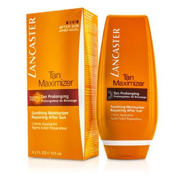 Lancaster Tan Maximizer Soothing Moisturizer Repairing After Sun, 4.2 Fluid Ounce