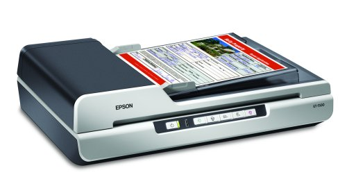 Epson WorkForce GT-1500 Document Image Sheet-Fed Scanner with Automatic Document Feeder (ADF) (Discontinued by manfacturer) by Epson