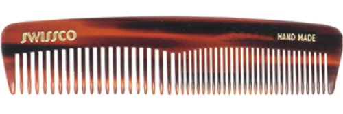 Swissco Tortoise Pocket Comb